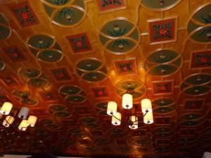 天井もステキでした