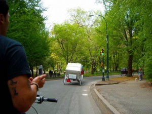 人力車、Paddy Cabに乗りました