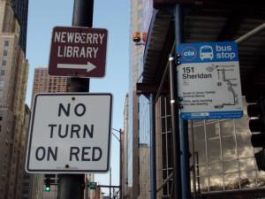 バス停にあった標識