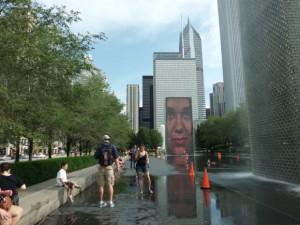 Crown Fountain(クラウン・ファウンテン)