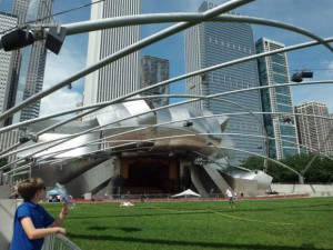 Jay Pritzker Pavilion & Great Lawn(ジェイ・プリツカ―・パビリオン& グレートローン)
