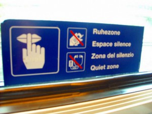 ドイツの列車にこういう表示あったっけ・・・