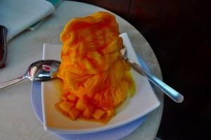 「味香園」のかき氷