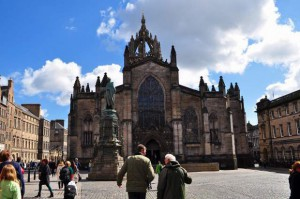St. Giles Cathedral(聖ジャイルズ大聖堂)
