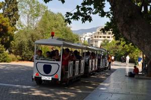 観光客のための電車