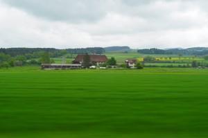 インターラーケンオストに戻る列車