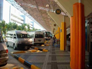 Marina Bay Sandsへのシャトルバス