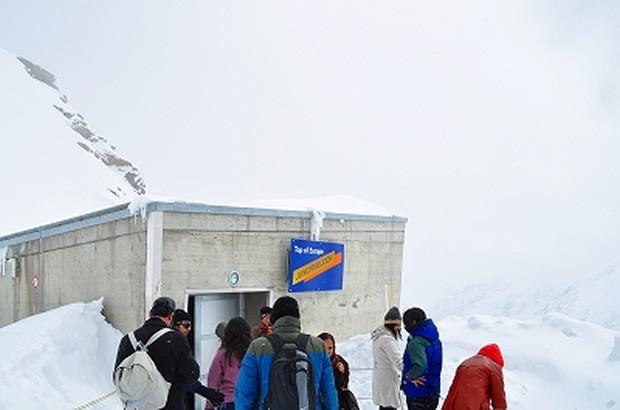 スイス・インターラーケン氷河