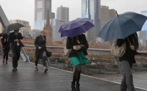 Melbourne rain