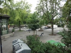バスティヨン公園の入口