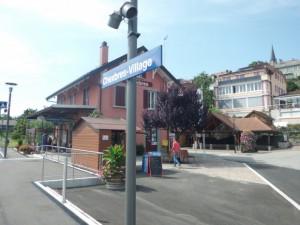シェーブルの駅