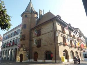 オードリーが挙式した市庁舎