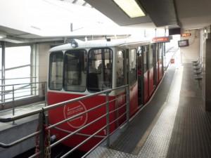 リヨン駅の構内